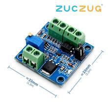 PWM כדי מתח ממיר מודול 0% 100% כדי 0 10V עבור PLC MCU דיגיטלי לאנלוגי אות PWM Adjustabl ממיר כוח מודול