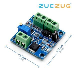 Image 1 - PWM כדי מתח ממיר מודול 0% 100% כדי 0 10V עבור PLC MCU דיגיטלי לאנלוגי אות PWM Adjustabl ממיר כוח מודול