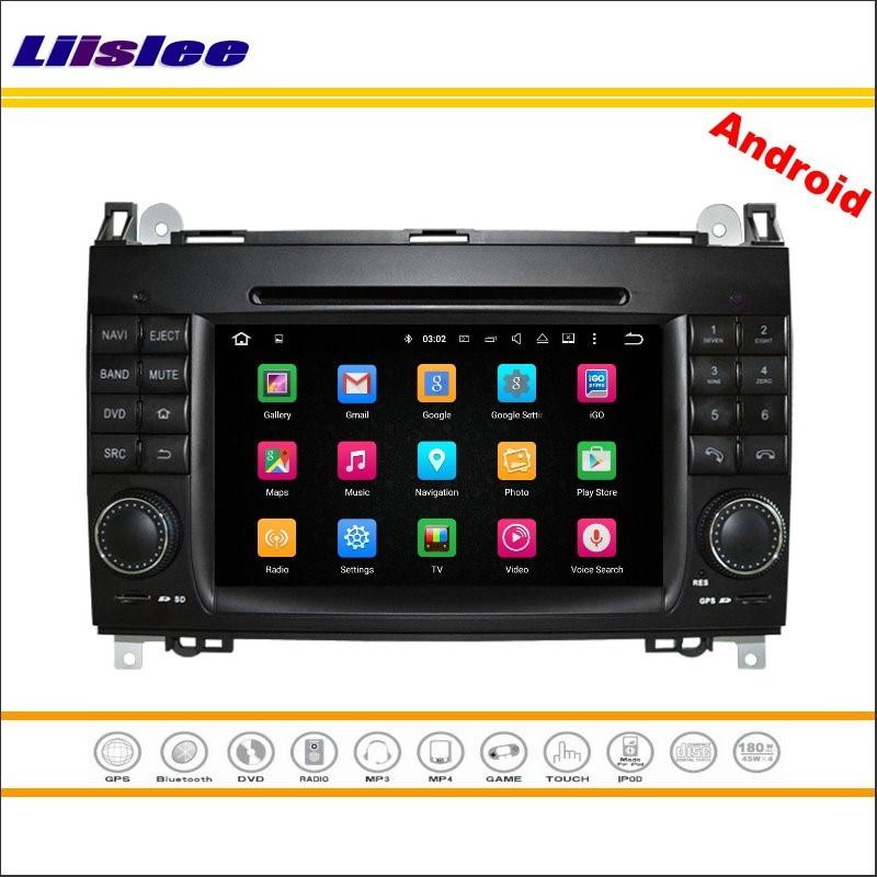 Liislee автомобиля Android мультимедиа для Volkwagen VW Crafter Volt LT3 стерео Радио стерео CD dvd-плеер GPS nav Географические карты навигации системы ...
