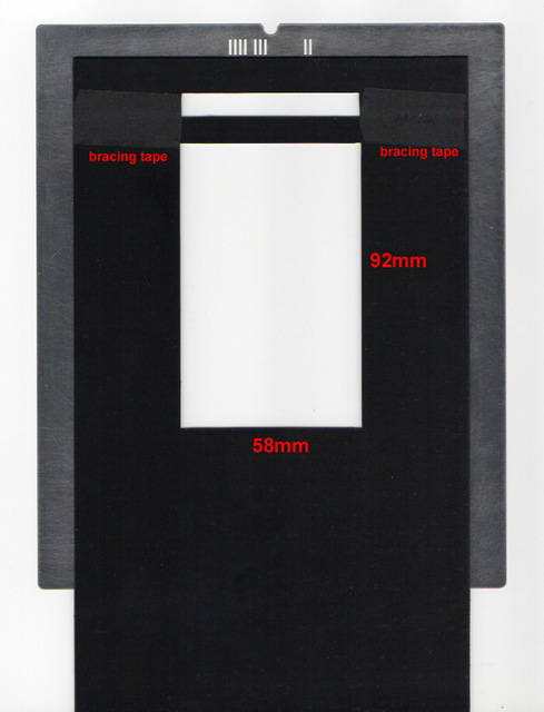 Film Holder For Imacon Flextight Scanners 6x9 With Id Code Full