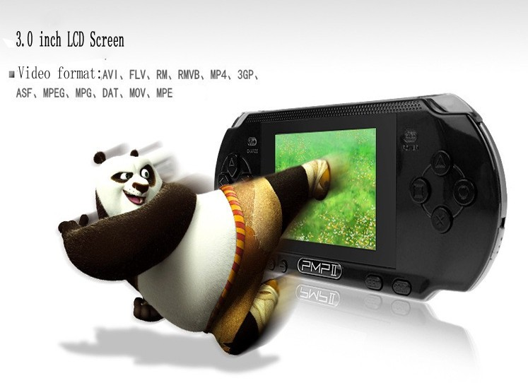 2017 Newest 3 inch PMP II Handheld Game Console 32 Bit Video Game Player Supports Handheld Game Players
