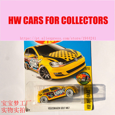 New Arrivals 2017 Hot Wheels 1:64 Volks Golf MK7 Metal Diecast Cars Collection Kids Toys Vehicle For Children Models ...