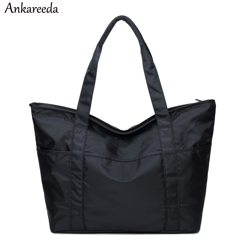 Ankareeda Women Travel Bags Fashion Oxford Cloth Large Capacity Waterproof Luggage Duffle Bag Casual Travel Bags