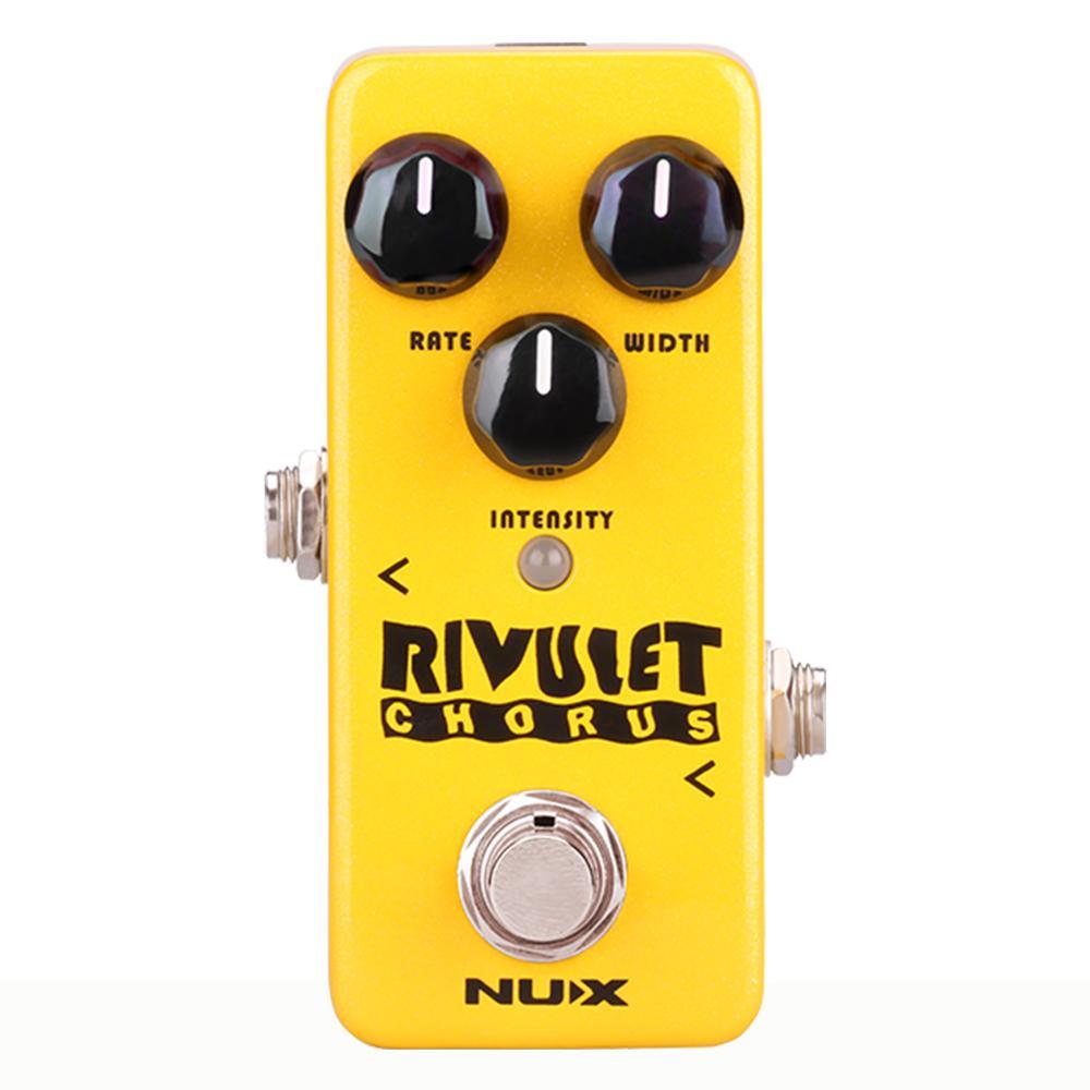 NUX Rivulet Chorus Guitar Effect Pedal DSP technology 3 Essential Choices Old school Analog Chorus Mini Core Series Stompbox