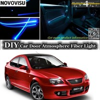 For Proton Putra Interior Ambient Light Tuning Atmosphere Fiber Optic Band Lights Inside Door Panel Illumination