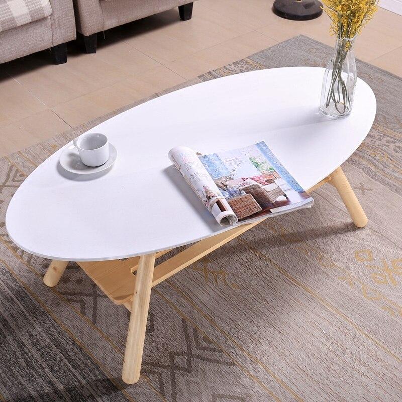 Mitte Des Jahrhunderts Moderne Oval Holz Tisch In Der Mitte Wohnzimmer  Möbel Zeitgenössische Niedrigen Zentrum Sofa Beistelltisch Holz Casual Tee  Tisch In ...