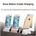 Cradle Charging Stand Docking Station USB Cable Charger Sync Data Dock For iPhone 7 6 6S Plus SE 5 5S 5C