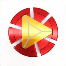 Hand Spinner Iron Man EDC Tri-Spinner Fidget Toys Metal Red Fidget Spinner ADHD Adults Kids Children Educationa DIY Toys Hobbies(China)