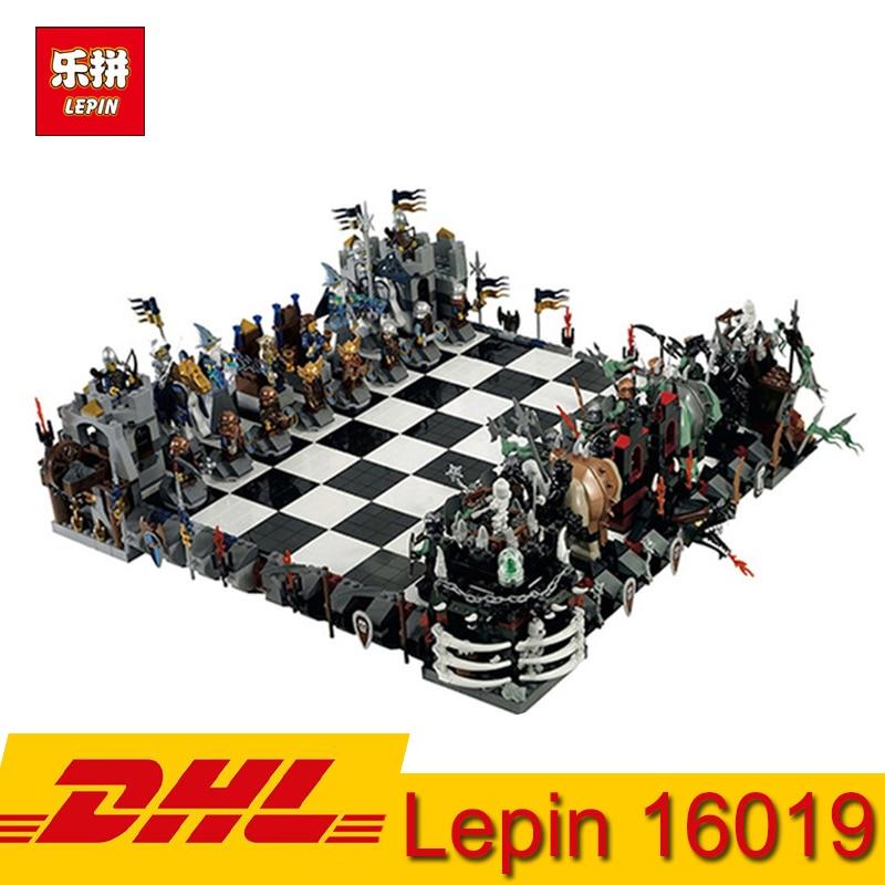 Lepin 16019 Créatif Les films série Château D'échecs International Modèle 2475 pièces Kits de Construction Bloc Jouets Pour Enfants Cadeau
