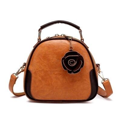 цена на Leather women's bag small bag 2018 new fashion shell hand shoulder diagonal package