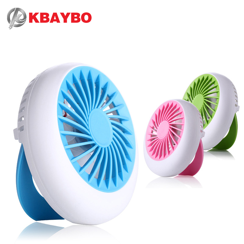 KBAYBO Rechargeable Fan USB Portable Desk Mini Fan for Office USB electric air conditioner small fan Angle Adjustment 1200mA handheld cartoon mini fan usb portable fan for home outdoor desk rechargeable air conditioner with 1200ma rechargeable battery