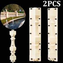 70cm Fence Cement Mold Roman Column Mold Balcony Garden Swimming Pool DIY Paving Molds Railing Plaster Concrete Mould Guardrail(China)