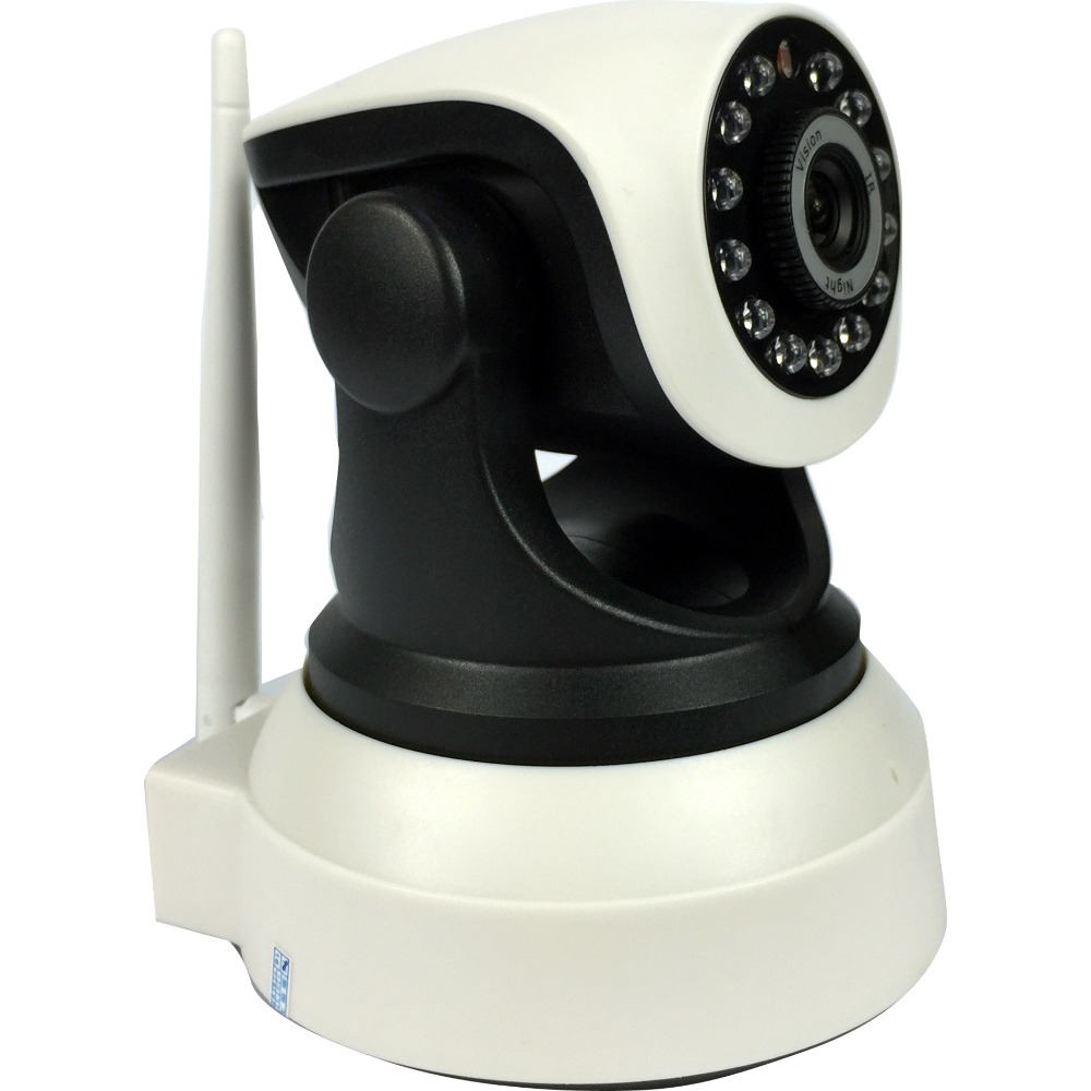 Wireless Pan Tilt 720P Security Network CCTV IP Camera Night Vision WIFI Webcam 720p pan tilt ip camera wireless audio network security 1 0 mp night vision wifi webcam sacam72m8 remote view home alarm system
