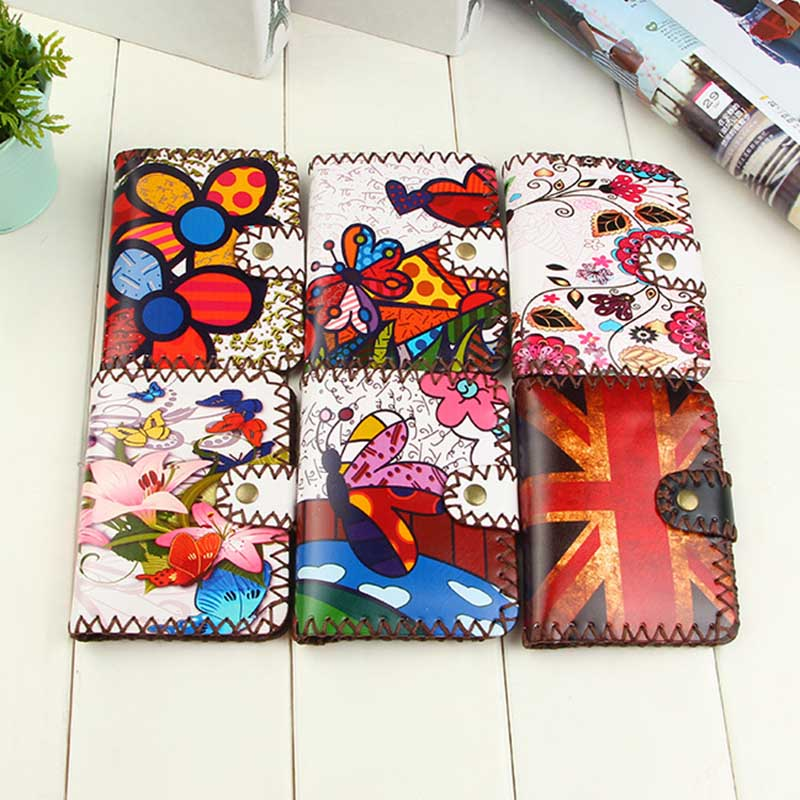 Fashion Short wallet Lovely color printing coin purse high quality PU leather women clutch purse hasp wallet Handmade wallets moana maui high quality pu short wallet purse with button