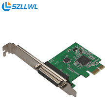 PCI-e PCI express to 25-pin parallel port card printer expansion adapter card