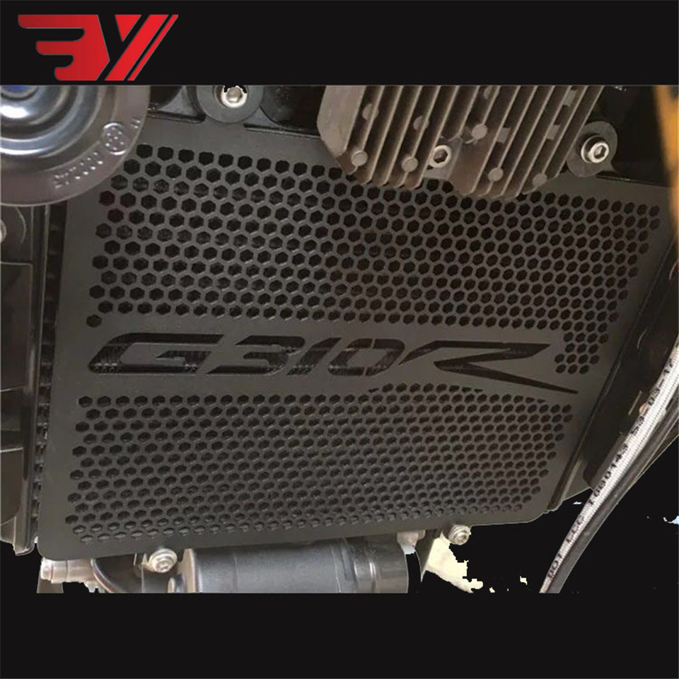 Motorcycle For <font><b>BMW</b></font> <font><b>G310R</b></font> G 310R 2017 2018 <font><b>Accessories</b></font> Stainless Steel Radiator Guard Protection Cover Cooled Protector Cover image