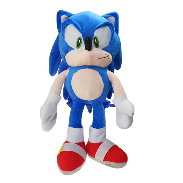 HOT 48cm Sonic Plush Toys Doll Sonic Cartoon Peluche Soft St…