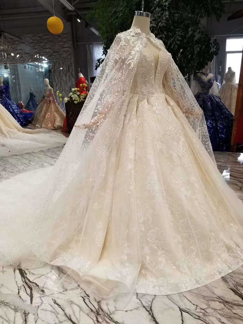 7c3c427d7d LSS454 sexy wedding gowns with long cape sweetheart off the shoulder  wedding dresses with wedding veil high quality customize