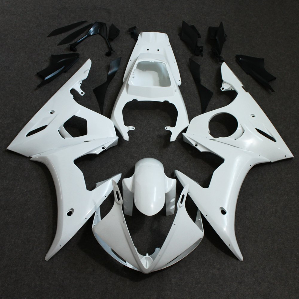 Motorcycle Unpainted Fairings For 2005 YAMAHA YZF R6 YZFR6 YZF600 YZF-R6 05 Injection Molding Full Bodywork Fairings Cowl Set 6 colors cnc adjustable motorcycle brake clutch levers for yamaha yzf r6 yzfr6 1999 2004 2005 2016 2017 logo yzf r6 lever