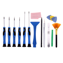 15 in1 Mobile Cell Phone Screen Opening Repair Tools Kit Screwdriver Pry Disassemble Tools set For Laptop Samsung iPhone 4/5/6/7