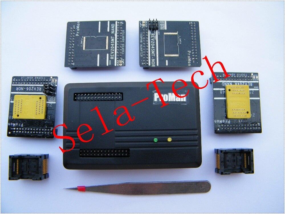 Livraison gratuite 2018 NAND ProMan Professionnel flash programmeur outil de réparation copie NAND FLASH de récupération de données, haute vitesse de programmation