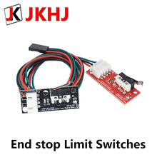 1pc Endstop limit Switches RAMPS 1.4 Control Board Part Switch Accessories 3D Printers Parts for I3 Delta Kossel Printer for endstop mechanical limit switches 3d printer switch with cable for ramps 1 4 cnc 3d printer accessories