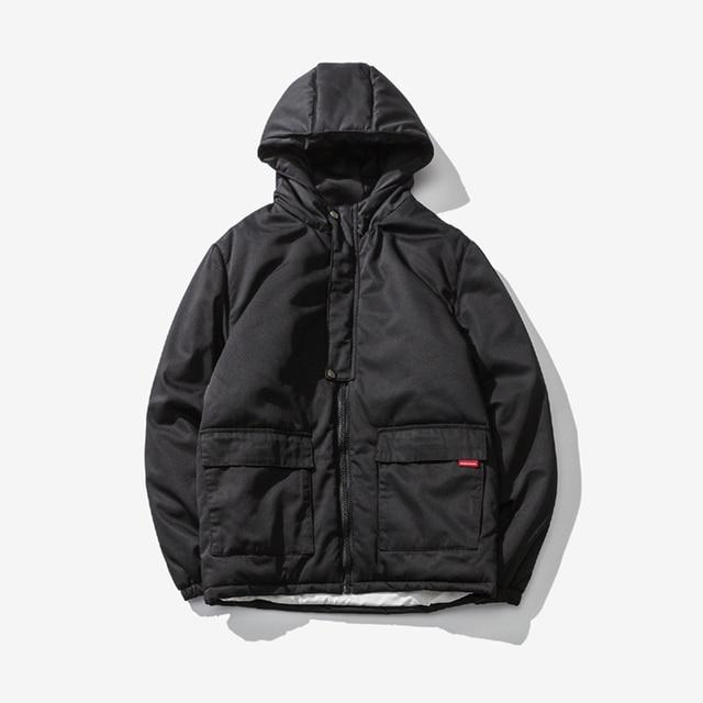 327624013c7 Winter Stylish Winter Jackets Men Parka Outerwear Coat Plus Size Bubble  Jaket Homme Hooded Japanese Streetwear Warm Man Clothes