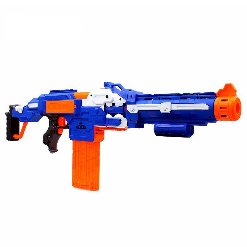 Soft Bullet Toy Gun Sniper Rifle Plastic 20 Bullets 1 Target Electric Elite For Child In Guns From Toys Hobbies On Aliexpress