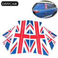 8Pcs Set High Quality Car Sticker Door Decoration British Style Stickers Car Styling For BMW MIini