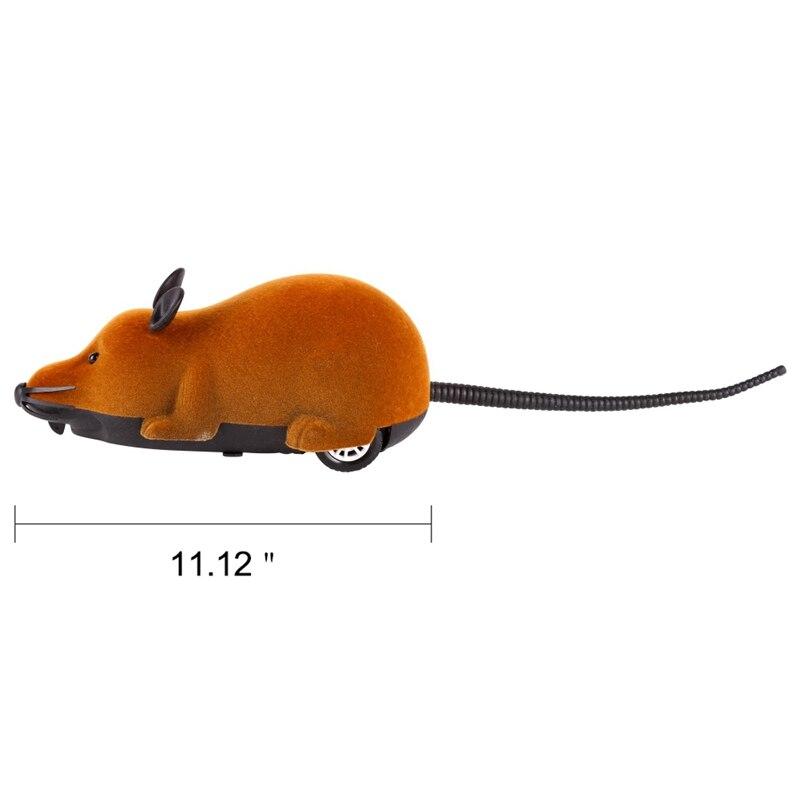 2018 новый милый кот забавные Беспроводной электронный Дистанционное управление Мышь Rat со вспышкой Средства ухода для век любимая игрушка д...