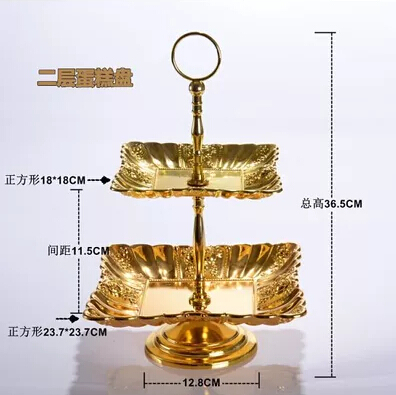 gold plated wedding cake stands gold tier cake stand home ideas 14805