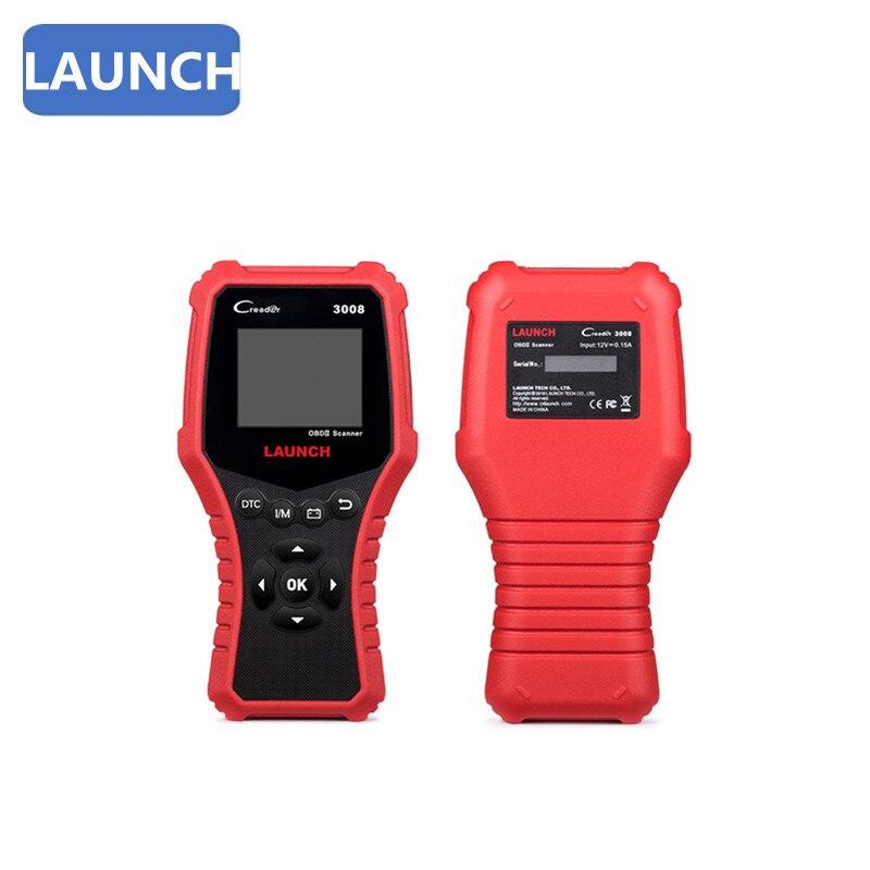 LANÇAMENTO Creader Professional 3008 OBD2 Melhorada OBDII EOBD Leitor de Código de Diagnóstico do Scanner