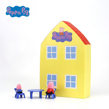 New Genuine PEPPA PIG Family house car  1