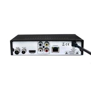 Image 2 - جديد HD DVB T2 موالف جهاز استقبال رقمي DVB T2 مستقبل التلفاز الأرضي ل/أوكرانيا/أوروبا/RU دعم USB واي فاي RJ45 مستقبلات