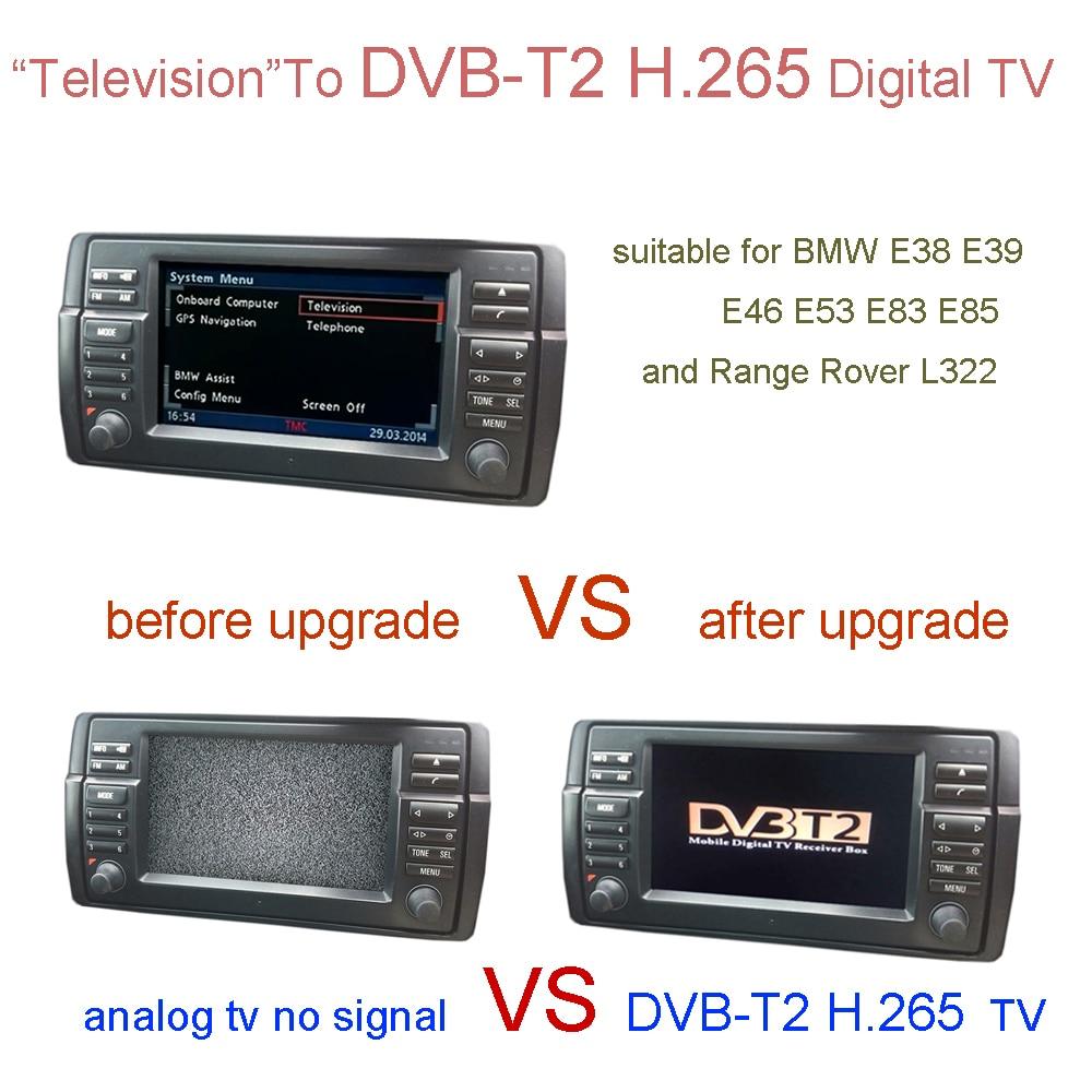 Dvb T2 H 265 Digital Tv For Bmw E38 E39 E46 X5 E53 X3 E83