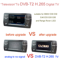 DVB T2 H.265 Digital TV For BMW E38 E39 E46 X5 E53 X3 E83 Z4 E85 ,Range Rover L322,Rover 75,MG ZT / MG ZT T
