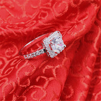 Authentic 925 Sterling Silver My Princess Ring Design Wedding Rings For Women Jewelry