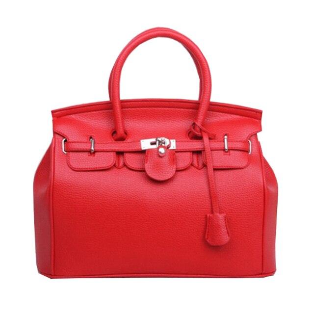 Hot Celebrity Tote Shoulder Bags Woman Handbag Designer Bag Faux Pu Leather