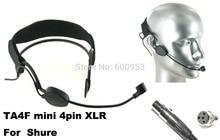 High Qulity Black Headset Head Microphone For S h- u r eS PGX SLX ULX UT ...  Wireless Mic System