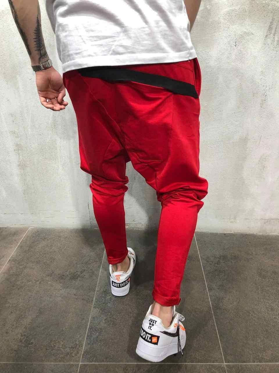 2019 nueva marca erkekler pantolon düz bacak de los hombres de algodon de corte Ince urbano pierna recta Rahat pantalones de