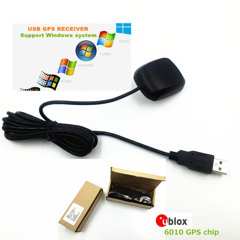 Used for data acquisition, laptop navigation STOTON GPS USB receiver G-mouse module antenna