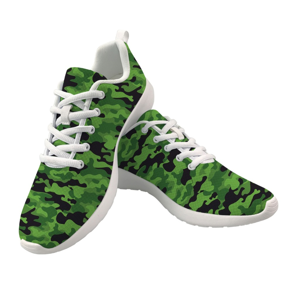 Nopersonality Cool Camouflage Sneakers for Men Lace Up Casual Male Mesh Shoes No slip Men Vulcanize Sneakers Breathable in Men 39 s Vulcanize Shoes from Shoes