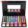 Popfeel 78 colores mate paleta de sombra de ojos profesional duradera maquillaje cosméticos sombras natural sombra de ojos set