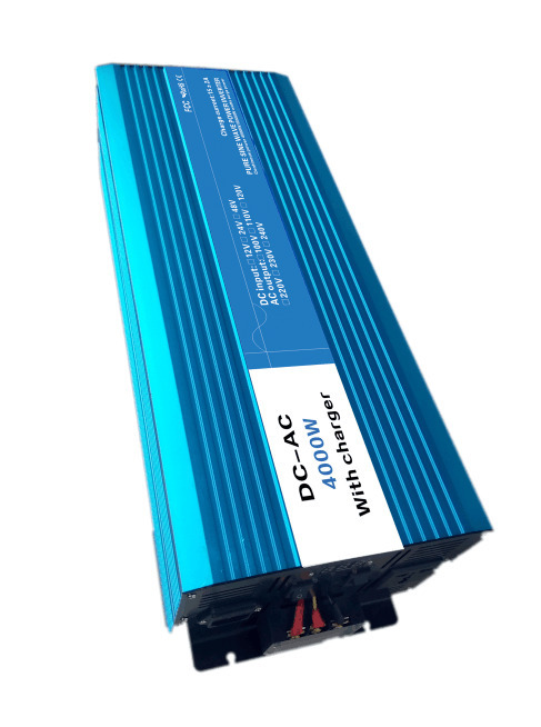 цена на Full Power 4000W Pure Sine Wave Inverter,DC 12V/24V/48V To AC 110V/220V,off Grid Solar inverter With Battery Charger And UPS