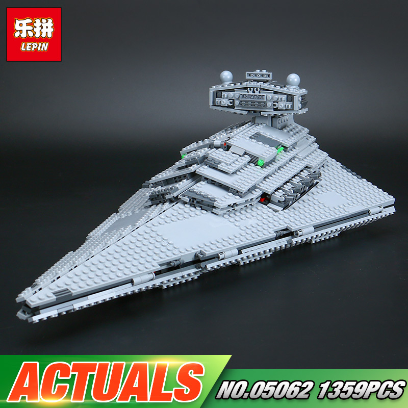 DHL Lepin 05062 Star Toys Wars The 75055 Super Star Fighting Destroyer Set Building Blocks Bricks New Kids Toys Christmas Gifts