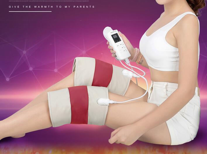 Vibrating Kneading Knee Massage Electrical Heating Moxibustion Therapy Leg Belt Gloves Joint Arm Massager вагина vibrating lady