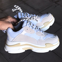 Women Shoes Plus Size 35 44 Women Sneakers Breathable Mesh Tenis Feminino Casual Shoes Women Platform Shoes Chunky Sneakers