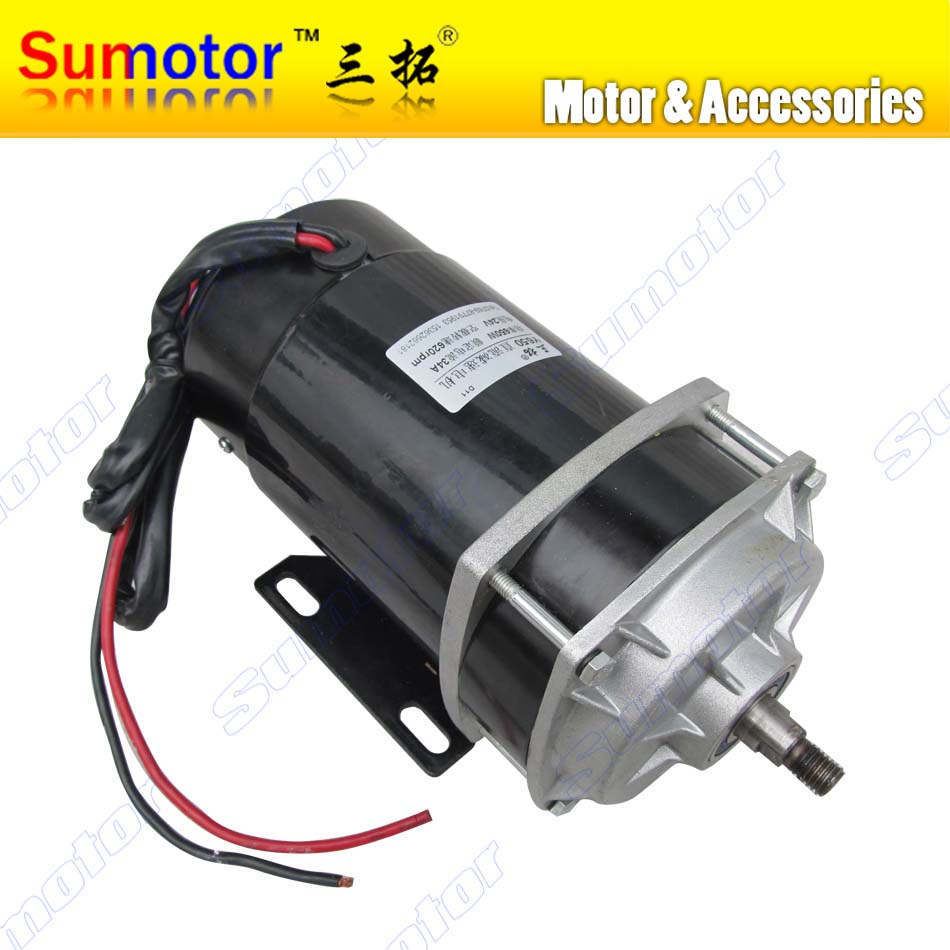 DC 24V 650W 620RPM High Torque planetary gear box reducer motor Eletric machinery Industry machine reversible variable tricycle 10 50v 100a 5000w reversible dc motor speed controller pwm control soft start high quality