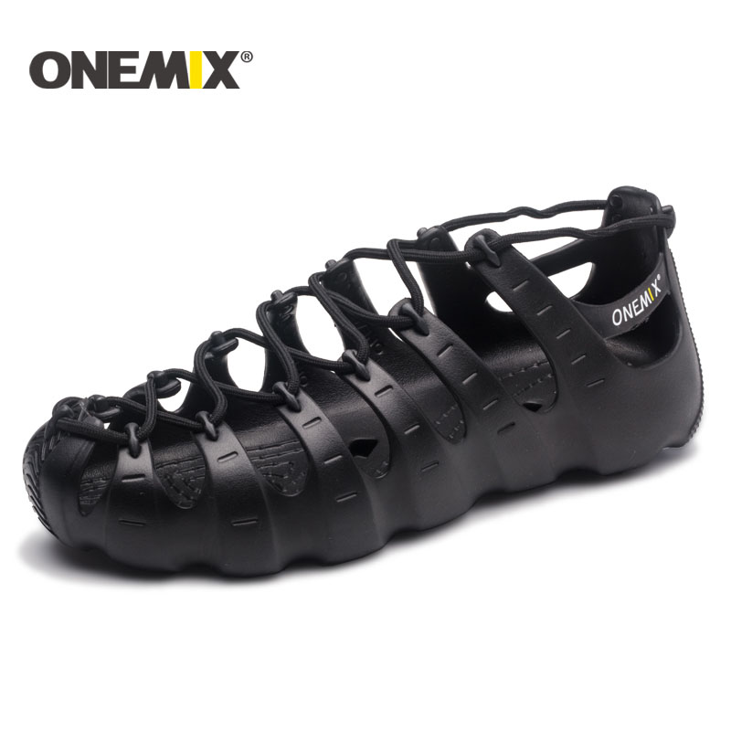 ONEMIX walking sneakers wading no glue environmentally friendly outdoor trekking walking shoes slippers sandals upstream shoes 2017 clorts new upstream shoes for men breathable fast drying wading sneakers outdoor shoes 3h023c