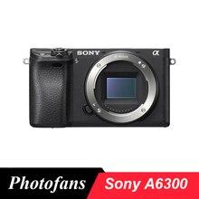 Беззеркальная цифровая камера sony Alpha a6300(только корпус, черный